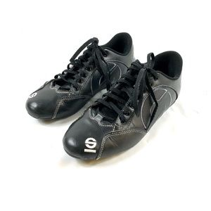 Sparco Esse Leather Racing Shoes Sz 8.5